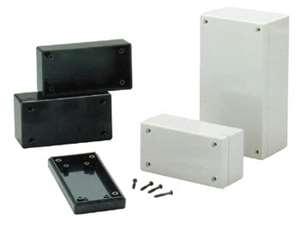 Sealed Polycarbonate Project Box 4 5 Quot X 2 6 Quot X 1 6 Quot Light Gray